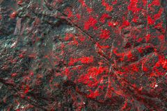 Background stone beautiful red and black in asia sea Phuket Thailand. Background stone pattern beautiful red and black in asia sea Phuket Thailand Stock Photography
