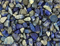 Background of stone lapis lazuli Royalty Free Stock Photo