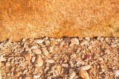 Background stone pattern orange sugar Phuket Thailand. Background stone pattern orange in Phuket Thailand royalty free stock photo