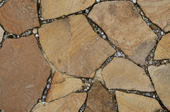 Stone background. Background of stone-paved uneven track Royalty Free Stock Image