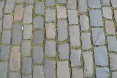 Background, stone pavement Stock Photos