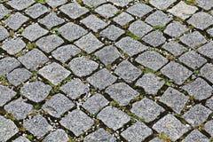 Background stone paving blocks Stock Photo