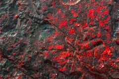 Background stone Red in phuket Thailand. Background stone Red black in phuket Thailand stock photo
