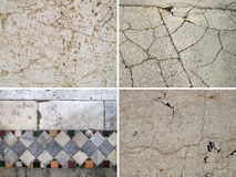 Background of stone. Set of 4 elements Stock Photo