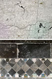 Background of stone. Set of 2 elements Royalty Free Stock Photo