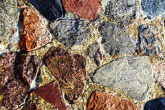 Background stone under water Stock Photos