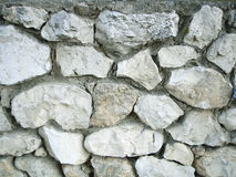 Background of a stone wall. A background of a  stone-dyke Royalty Free Stock Images