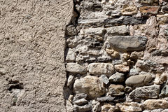 Background of stone wall. Texture stock photography
