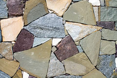 Background of a stone wall Royalty Free Stock Photo