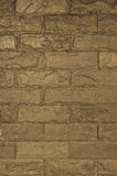 Background of stone wall made with blocks Stock Photography