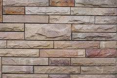 Background of stone wall made with blocks Royalty Free Stock Photography