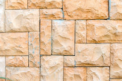 Background of stone wall made with blocks Royalty Free Stock Image