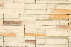 Background of stone wall made with blocks Royalty Free Stock Images
