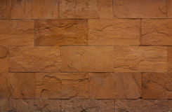 Background of stone wall made with blocks. Stock Photo