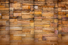 Background of stone wall made with blocks. Royalty Free Stock Photo