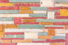 Background of stone wall made with blocks Stock Image