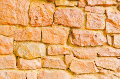 Background of stone wall texture. Background of red stone wall texture Stock Image