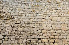 Background of stone wall texture.  Royalty Free Stock Images