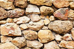 Background of stone wall Royalty Free Stock Images