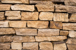 Background of stone wall Royalty Free Stock Photo