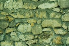 Background of stone wall texture. stock images