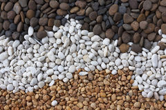 Background of stones. That ornamental garden Royalty Free Stock Images