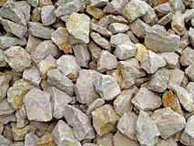 Background with stones. Nice background made from white stones Stock Photography