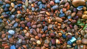 colorful gravel Background Stock Images