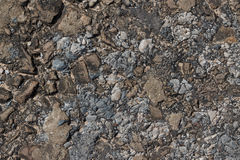 Background of stones and pebbles, texture Stock Image
