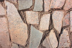 Background of stones. Stonework. A wall of stones Royalty Free Stock Images