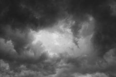 Background of storm clouds. Before a thunder-storm Stock Image