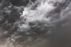 Background of storm clouds Royalty Free Stock Photos