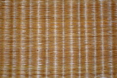 Background of the straw mats clouseup Stock Images