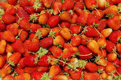 Background of strawberries Stock Photos