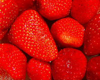 Background of strawberries Stock Photo