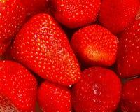 Background of strawberries Stock Photo