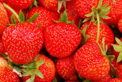 Background from strawberry Royalty Free Stock Image