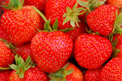 Background from strawberry Stock Photos