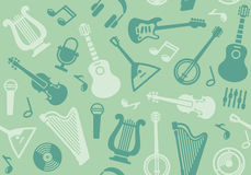 Background with string musical instruments Royalty Free Stock Photo
