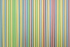 Background of Striped drink straws Royalty Free Stock Image
