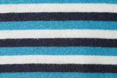 Background from a striped fabric. White, black and blue Stock Photos