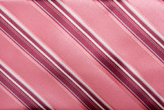 Background from striped tie Stock Photo