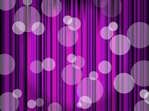 Background with stripes and circles Royalty Free Stock Image