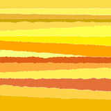 Background stripes torn paper yellow Royalty Free Stock Image