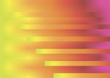 Background with stripes and yellow and red gradient. Drawing of a background with stripes and gradient,  transitions between colors yellow, orange, red and pink Royalty Free Stock Image