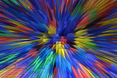 Background from strips of different colors Royalty Free Stock Images