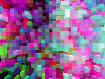 Background from strips of different colors Royalty Free Stock Photos