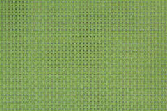 Background and strukture green braided. Background and strukture in green braided tablecloth Stock Photography