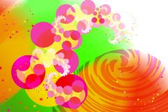 Background in style disko Stock Images