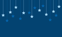 Background style with star design. Vector illustration Royalty Free Stock Photos